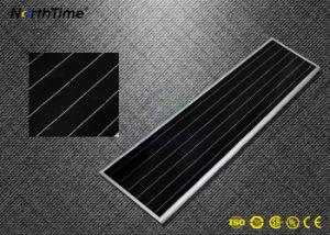 전화 APP 통제 통합 IP65 태양 전지판 LED 가로등