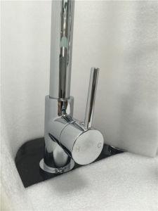 透かし衛生製品のスプレーは引き出す真鍮の台所ミキサー(HY813)を