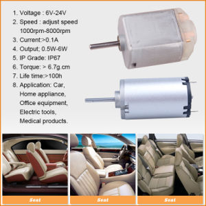 CC Motor di 15V Driving Electric Mini Brush per Car/Home Appliance/Office-Maker