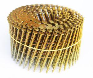 El tornillo brillante de 2,5 x 50 mm bobina clavos
