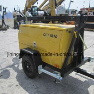 Промышленные Мачту QLT для наружного освещения автомобиля M10 установлен дизельный буксируемые грузы на свет в корпусе Tower