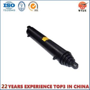 Toque longo Multistge cilindro hidráulico telescópico de rebatimento