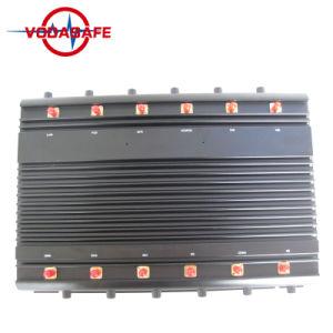Высокая мощность беспроводного 3G 4G WiFi-телефона GSM CDMA бомбы сигнал блокировки всплывающих окон / Перепускной, мобильный телефон сигнал изолятор