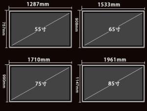 75 Muur van Whiteboard van het Onderwijs van het Scherm van LG /Samsung de Originele LCD van de duim