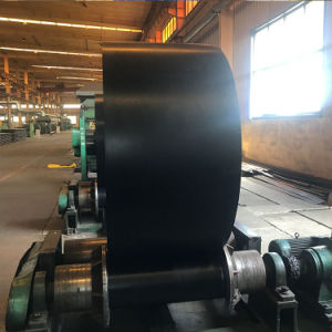 高力産業黒いポリエステルEPのコンベヤーベルト