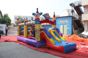 Carrera de Obstáculos hinchables de circo para Todders Chob578