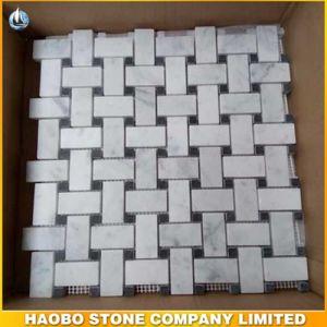 Het Witte Marmeren Mozaïek van Wholsale voor de Tegels van de Muur en van de Vloer