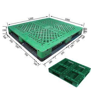 La ISO de suministro de fábrica de paletas de plástico de alta calidad directamente en el precio competitivo