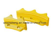 Voie machinerie de construction des segments de barbotin pour excavatrice à chenilles de pièces de châssis porteur BULLDOZER KOMATSU PC75uu-2