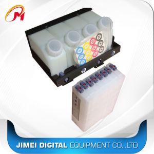 Bulk Systeem Vier het Systeem van de Tank van de Inkt van de Kleur/het Ononderbroken Systeem van de Levering van de Inkt voor de Oplosbare Printer van Mutoh Mimaki