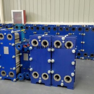 パルプおよびペーパー企業のための広いランナーの版の熱交換器