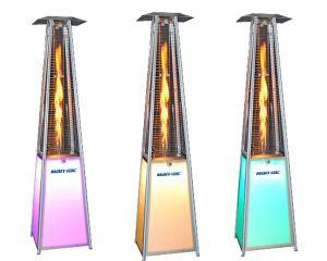 LED portátil mais recentes Manvac fogueira exterior Pátio Fogões aquecedor a gás