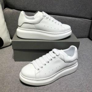 Zapatos Casual negro de encaje hasta la comodidad de diseñador chica bonita mujer zapatillas zapatos de cuero Casual hombres zapatillas de mujer
