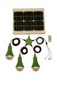 Mayorista de portátiles Mini Smart Kits de iluminación solar, Solar Kits con un cargador USB