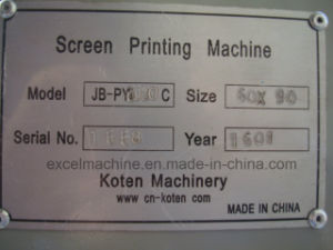パキスタンの半自動Screen Printing Machine Sold