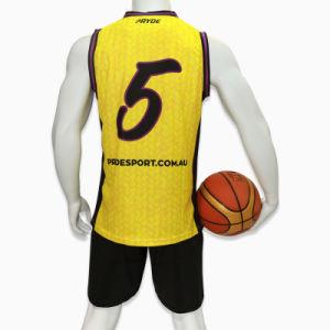 Healong 염료에 의하여 승화되는 농구 저어지 및 간결