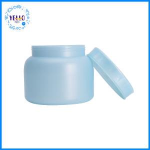 広州の製造者470mlの容器の装飾的なHDPEのプラスチック空のクリーム色の瓶