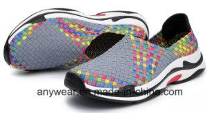 Nouveau mode de patiner sur les chaussures Chaussures Knitting tissé (475)