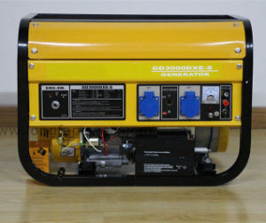 2kw 휴대용 전기 휘발유 Genset 발전기
