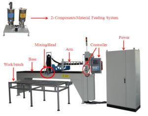 Macchina automatica del poliuretano della guarnizione del filtrante dell'unità di elaborazione