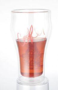 2個のホウケイ酸塩のDouble-Wallガラス飲むコップの650mlセット
