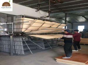 На заводе поставщика непрерывной вертикальной шпона осушителя