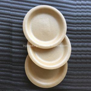 Emballage Alimentaire biodégradable jetable Amidon de maïs plaque ronde de 9 pouces