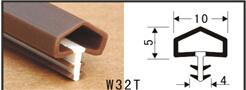 Le joint de joint inférieur de porte W32tr