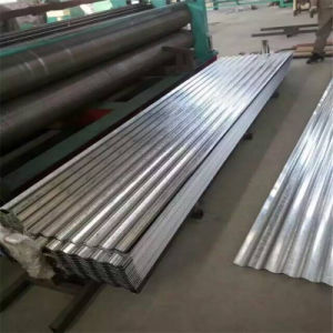 Strati ondulati galvanizzati del tetto del metallo, strati ondulati del tetto del metallo