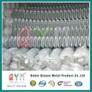 Fabrik galvanisierte verwendeten Diamant-Ineinander greifen-Kettenlink-Zaun Rolls
