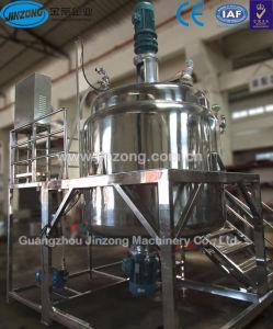 Maquinaria Jinzong depósito mezclador al vacío de acero inoxidable