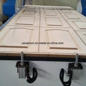 router di legno elaborante di CNC 3D quattro per il portello