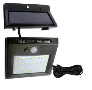 3W 아마존 온라인 태양 LED 벽 램프 담 주차 야드 거리 정원 빛