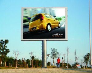 LED 영상 벽을 광고하는 옥외 P10 잘 고정된 풀 컬러