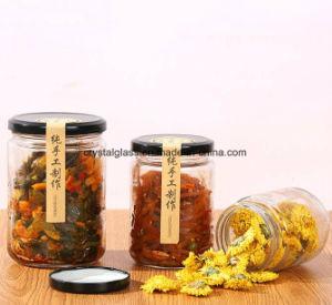 Rechte Side Glass Jar voor Food 3oz 6oz 8oz 16oz