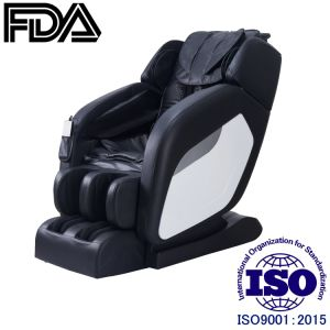 Venta caliente negro manipulador 3D toque humano sillón de masaje