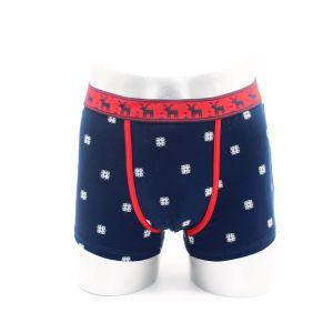 Short del pugile degli uomini/biancheria intima, stampa Allover con la fascia elastica di Piping& di colore Contrasting, alta qualità