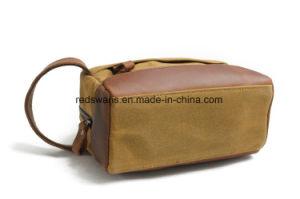 屋外の装飾的なキャンバス袋のより安い構成の洗面用品袋(RS-9138K)