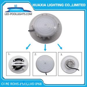 LED de IP68 isolados de resina Outdoor Pool de LED da Lâmpada de Luz subaquática