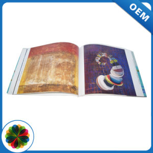 A impressão de livros de bolso de alta qualidade com retalhos