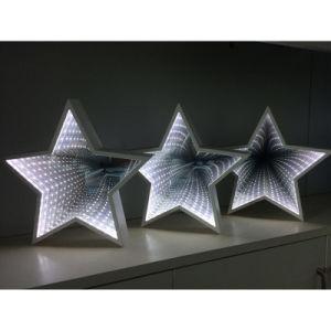 주제 가정 훈장을%s 가벼운 테이블 미러 3D 갱도 밤 빛