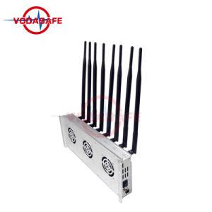 De mobiele Stoorzender CDMA/GSM/3G2100MHz/4glte/Wi-Fi/Bluetooth, Blocker van het Signaal van de Stoorzender van de Zaal voor Cellphone /Wi-Fi