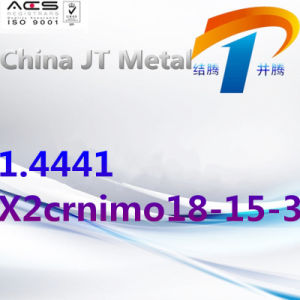 1.4441 de Staaf van de Pijp van de Plaat van Roestvrij staal x2crnimo18-15-3, de Leverancier van China
