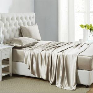 Los conjuntos de ropa de cama de lujo barata consolador establece los precios / Sábana de seda