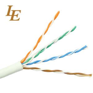 U/UTP Cat5e equipo trenzado sin blindaje del cable LAN Ethernet.