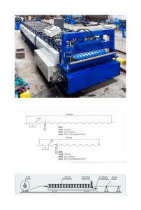 Yx18-77-760/1040 runzelte die Dach-Panel-Rolle, die Maschine bildet
