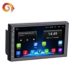 Suministro de la fábrica Universal 7 pulgadas de pantalla táctil doble DIN 2 Android sistema multimedia de navegación GPS Auto Video Radio Stereo Audio Car DVD Player
