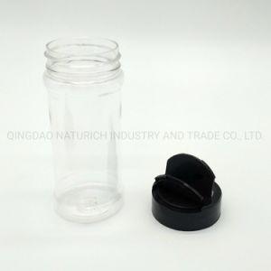 Peper van de Opslag van het Kruiden van de Levering 8oz/240ml van China de Goedkope/de Zoute 9oz Plastic Fles van het Huisdier van de Fles van het Kruid