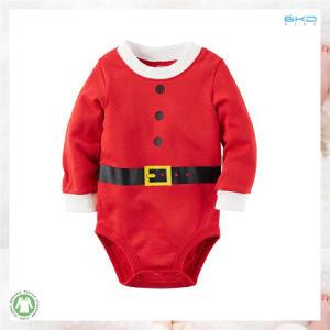 빨간 아기 의복 남녀 공통 아기 Onesie