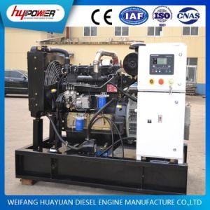 4개의 실린더 디젤 엔진에 의해 강화되는 자동 시작 40kw/50kVA Weifang 전기 발전기
